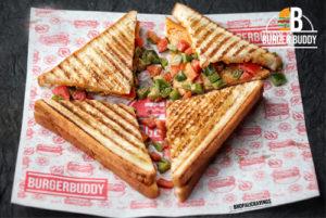 Veg Raseela Sandwich